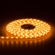 yellow led strip lights side emitting narrow flexible led strip tape light 16 4ft aspectled
