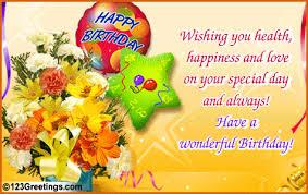 birthday card greeting free birthday wish card free printable