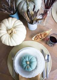 thanksgiving table ideas with martha stewart paints design