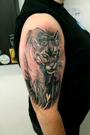 mountain lion tattoo designs pictures to pin on pinterest tattooskid