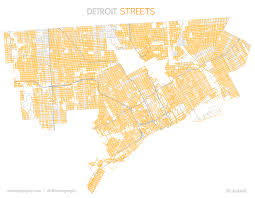 Map Of Michigan Roads by Boulevard Avenue Road And Street In Detroit Detroitography