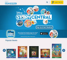 read disney books online on disney story central