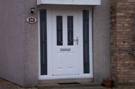 front doors with side lights attractive white front door with sidelights and brilliant white