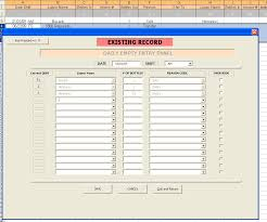 Example Of A Spreadsheet Example Of Userforms Displaying Data