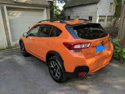 subaru orange crosstrek my new 2018 subaru crosstrek album on imgur