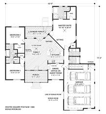 craftsman style house plan 4 beds 3 00 baths 1800 sq ft plan 56 557