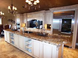 kitchen room admirable semi custom white long kitchen island
