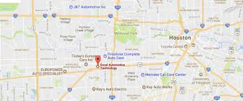 Zip Code Houston Map by Excel Automotive Technology Galleria Auto Repair And Collision