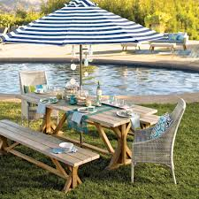 Striped Patio Umbrella 9 Ft by Cafe Stripe 9 Ft Umbrella Canopy World Market