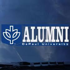 alumni decal depaul loop cus bookstore colorshock alumni decal