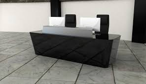 Reception Desk Black Black Reception Desk Office 12 Exles Of Black