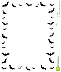 scary halloween clipart black and images for u003e black and white halloween borders halloween ideas