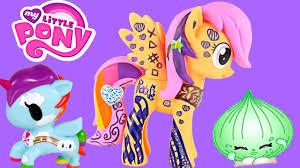 pony scootaloo design pony unicorno frenzies shopkins