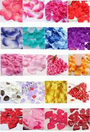 silk petals silk flower petals for weddings wedding corners