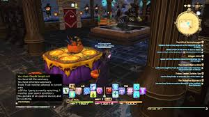 Garden Halloween Decorations Ffxiv Hem U0027s Halloween Decorations And Botanical Garden Youtube