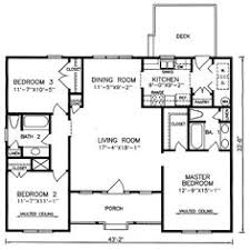 one story house plans 3 bedroom house plans one story no garage houses pinterest