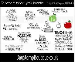 teacher thank you letter template