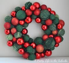 ornament wreath ideas