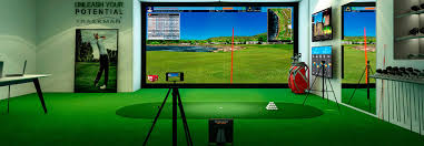 Home Golf Simulator by E6golf Software Featured On Trackman Simulator Https Trugolf