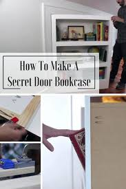 hidden bookcase door conceals gun closet hidden door bookcase uk