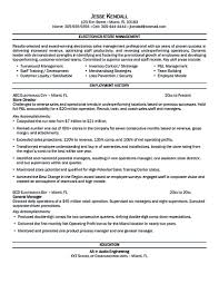 Retail Store Manager Resume Example by Store Manager Resume Should Be Written Clearly And Properly So You