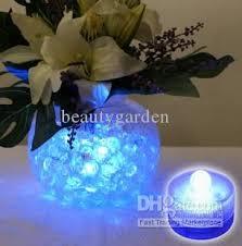 submersible led tea lights blue tea light submersible led candle lights wedding decoration