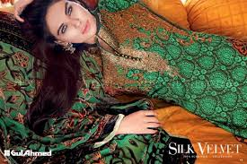 gul ahmed winter dresses collection 2015 2016 vol 1 catalog