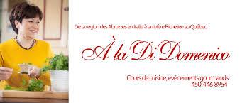 cours cuisine italienne cuisine italienne traditionnelle à beloeil québec di