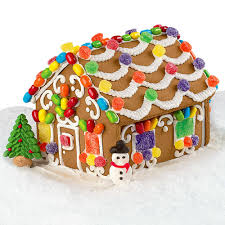 House Kit by Pre Baked Gingerbread House Kit Wilton