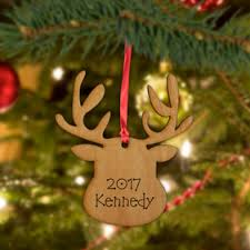 personalized tree ornaments monogram