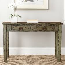 Green Console Table Safavieh Carl Antique Green Console Table Overstock Shopping