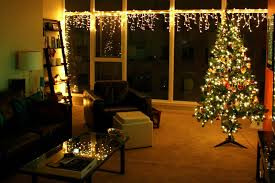 Lights Room Decor by Living Room Christmas Lights Nice Christmas Living Room