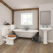 legend traditional roll top bathroom suite at victorian plumbing uk