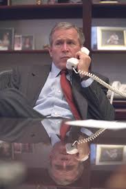 exclusive new photos show bush u0027s response to 9 11 attacks