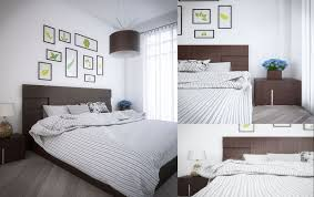 interior design bedrooms with classic white bed and roof idolza