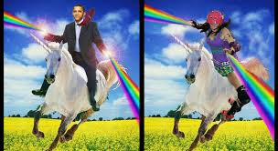 Unicorn Rainbow Meme - talk derby to me roller derby memes had to be done