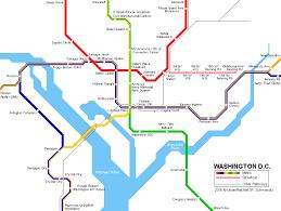 washington subway map washington subway map