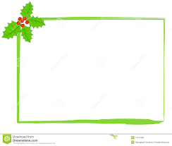 christmas holly border royalty free stock photos image 11217498