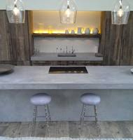 kitchen island worktops uk polished concrete worktop surfaces concreations ltd