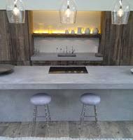Kitchen Island Worktops Uk Polished Concrete Worktop Surfaces Concreations Ltd