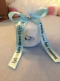 personalized ribbon for favors 25 snoopy baby shower favors 1 50 each by ribbonpersonalized i
