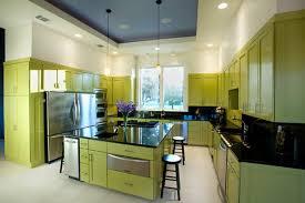 Modern Kitchen Cabinet Colors Kitchen Design Yellow Kitchen Cabinets Cabinet Colors Modern