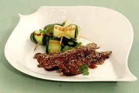cuisiner courgette recette de aiguillette de canard laquée au balsamique piccata de
