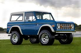 ford troller 2016 1974 early classic ford bronco frame off restoration coyote