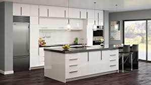 36 3 drawer base kitchen cabinet gloss white cabinet modern comtemporary wood