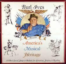burl ives america s musical heritage vinyl lp album at discogs