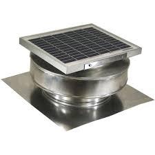 solar attic fans pros and cons active ventilation 365 cfm mill finish 5 watt solar powered roof