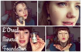 l oreal true match mineral powder foundation review first impressions