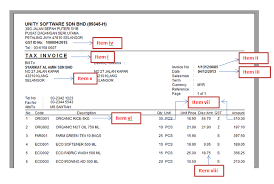 gst invoice template invoice example