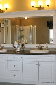 master bathroom mirror ideas of great ideas how to upgrade your builder grade mirror